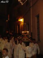 Festa della Vara 12 Agosto 2007 Processione dei simulacri dell'Arcangelo Gabriele e di Maria SS. Annunziata e della reliquia del capello della Madonna  - Fiumedinisi (2610 clic)