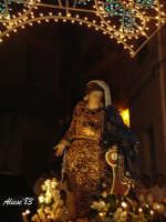 Festa della Vara 12 Agosto 2007 Processione dei simulacri dell'Arcangelo Gabriele e di Maria SS. Annunziata   - Fiumedinisi (2213 clic)