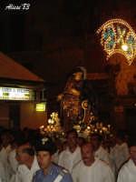 Festa della Vara 12 Agosto 2007 Processione dei simulacri dell'Arcangelo Gabriele e di Maria SS. Annunziata   - Fiumedinisi (1788 clic)