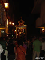 Festa dell'Immacolata Concezione 12 Agosto 2007 Processione tra i vicoli del quartiere San Giovanni  - Nizza di sicilia (2278 clic)