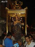Festa dell'Immacolata Concezione 12 Agosto 2007 Processione tra i vicoli del quartiere San Giovanni  - Nizza di sicilia (2662 clic)