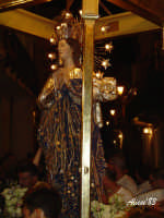 Festa dell'Immacolata Concezione 12 Agosto 2007 Processione tra i vicoli del quartiere San Giovanni  - Nizza di sicilia (2204 clic)