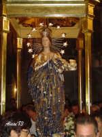Festa dell'Immacolata Concezione 12 Agosto 2007 Processione tra i vicoli del quartiere San Giovanni  - Nizza di sicilia (3553 clic)
