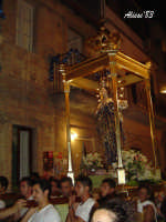 Festa dell'Immacolata Concezione 12 Agosto 2007 Processione tra i vicoli del quartiere San Giovanni  - Nizza di sicilia (5831 clic)