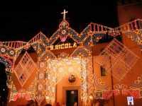 Luminarie per San Nicola  - Gualtieri sicaminò (8465 clic)