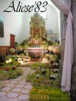 Altare delle Reposizione Giovedi Santo 2009  - Alì (5407 clic)