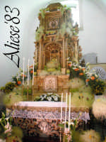Altare delle Reposizione Giovedi Santo 2009  - Alì (4781 clic)