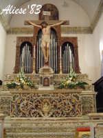 Altare Maggiore Chiesa Madre  - Alì (4283 clic)