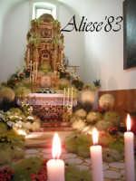 Altare delle Reposizione Giovedi Santo 2009  - Alì (5945 clic)