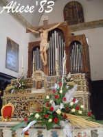 Altare Maggiore Chiesa Madre  - Alì (4520 clic)
