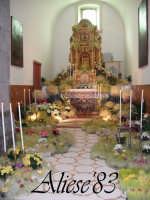 Altare delle Reposizione Giovedi Santo 2009  - Alì (5768 clic)