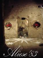 Presepe presso l'androne di palazzo Maggiore fine XVI sec.   - Alì (4380 clic)
