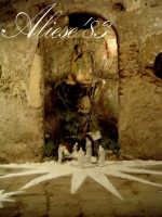 Presepe presso l'androne di palazzo Maggiore fine XVI sec.   - Alì (4356 clic)