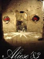 Presepe presso l'androne di palazzo Maggiore fine XVI sec.   - Alì (5011 clic)