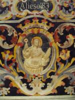 S.Agata medaglione Altare Maggiore XVII sec.   - Alì (4644 clic)