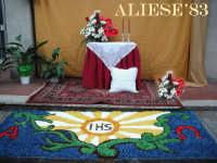 Altare per il Corpus Domini nel quartiere Mena  - Alì terme (11544 clic)