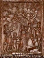 S.Agata Coro ligneo XVIII sec.   - Alì (4179 clic)