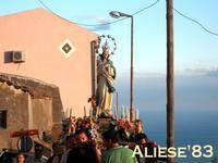 Processione in onore della Madonna del Bosco  - Alì (5649 clic)
