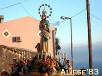Processione in onore della Madonna del Bosco  - Alì (6773 clic)