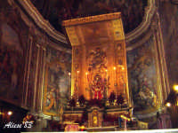 Basilica di S. Sebastiano altare maggiore  - Acireale (1607 clic)