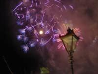 Festino 2007: Fuochi d'artificio visti dal Muro delle Cattive PALERMO Paolo Capodici
