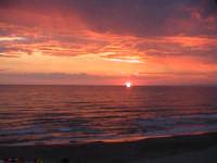 vista tramonto dalla lanterna  - Scoglitti (7025 clic)