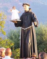 S.Antonio durante la processione del 16 agosto 2007  - Piraino (3411 clic)