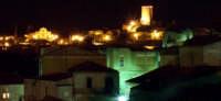 Torre delle Saracena e la chiesa di santa Caterina  vista dalla scuola elementare  - Piraino (3443 clic)