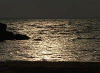 Mare di S.Leone al tramonto  - San leone (4354 clic)