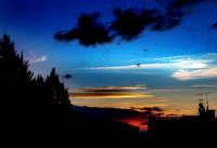 Alba e silhouette   - Letoianni (6126 clic)