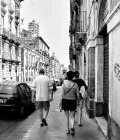 Fra le vecchie strade di Catania Via Vittorio Emanuele  - Catania (4779 clic)