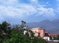 Panorama con la Chiesa Madre.  - Tremestieri etneo (4120 clic)