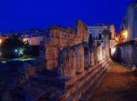 Tempio di Apollo  di sera  - Siracusa (5199 clic)