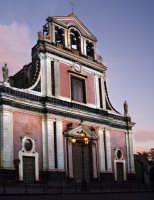 Facciata della chiesa di S.Vito  - Mascalucia (4554 clic)