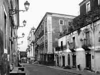 Via Crociferi.Strada piena di architettura barocca.In essa sono stati ambientati tanti films,ultimo in ordine cronologico,storia di una capinera  - Catania (3706 clic)