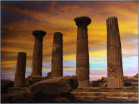 Tempi di Giove.  - Valle dei templi (27579 clic)