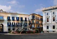 Piazza Archimede.La fontana di Artemide  - Siracusa (2979 clic)