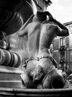 Tritone della fontana dell'Amenano in piazza Duomo  - Catania (4838 clic)