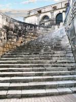 Le scalinate che portano alla chiesa di S.M.Delle Scale RAGUSA Orazio Minnella