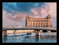 Ponte nuovo e palazzo delle poste  - Siracusa (2768 clic)
