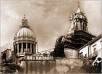 La chiesa di S.Giorgio e la cupola  RAGUSA Orazio Minnella