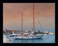 panorama dal molo del porto  - Riposto (2704 clic)