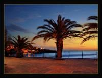 Alba al lungomare prossimità piazza Europa  - Catania (8081 clic)