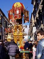 Festa di S.Agata.La candelora dei macellai  - Catania (3925 clic)