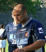 Catania calcio.Paolo Bianco durante l'amichevole giocata con la Virtus  - Nicolosi (3778 clic)