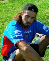 Catania calcio.Armando Pantanelli durante l'intervallo dell'amichevole giocata con la Virtus  - Nicolosi (11838 clic)