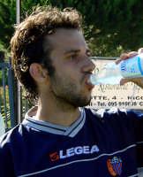 Catania calcio.Beppe Mascara durante l'intervallo dell'amichevole giocata con la Virtus  - Nicolosi (2890 clic)
