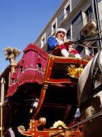 Festa di S.Agata.Particolare della carrozza del Senato(3 febbraio)  - Catania (2187 clic)