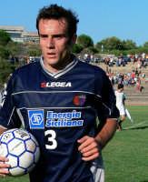 Catania calcio.Rocco Sabato durante  l'amichevole giocata con la Virtus  - Nicolosi (3309 clic)
