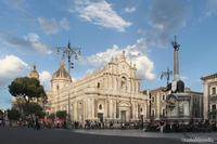 piazza duomo   - Catania (1700 clic)